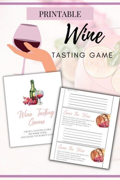 printable wine tasting game